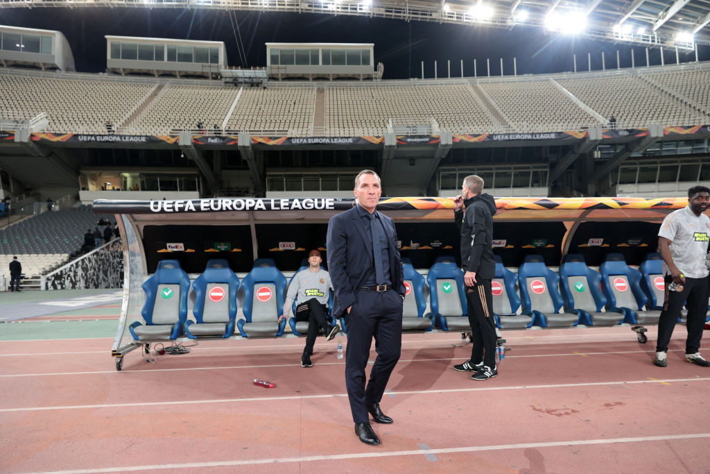 AEK Athens v Leicester City: Group G - UEFA Europa League