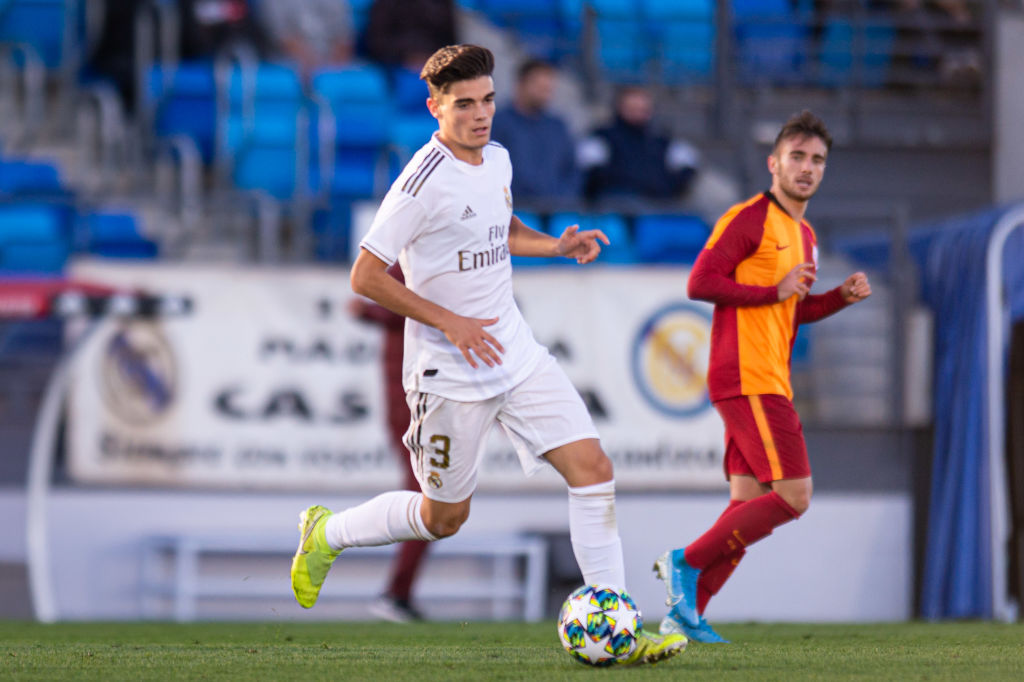 Real Madrid U19 v Galatasaray Istanbul U19 - UEFA Youth League