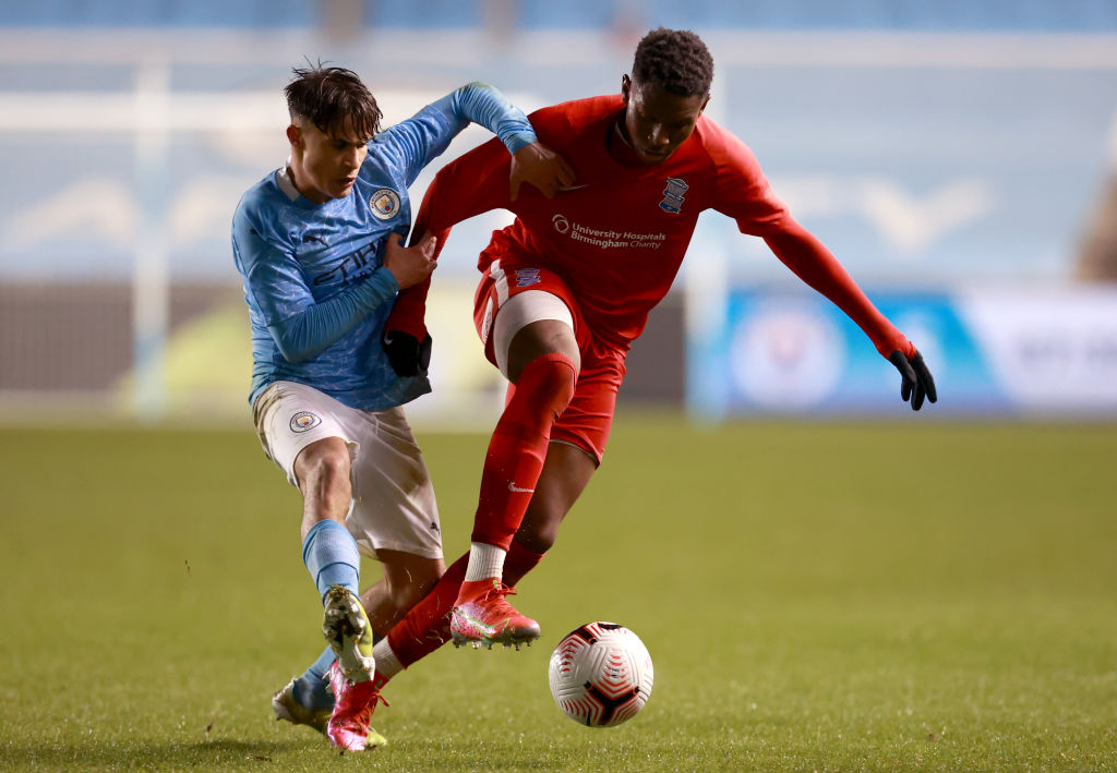 Manchester City v Birmingham City: FA Youth Cup